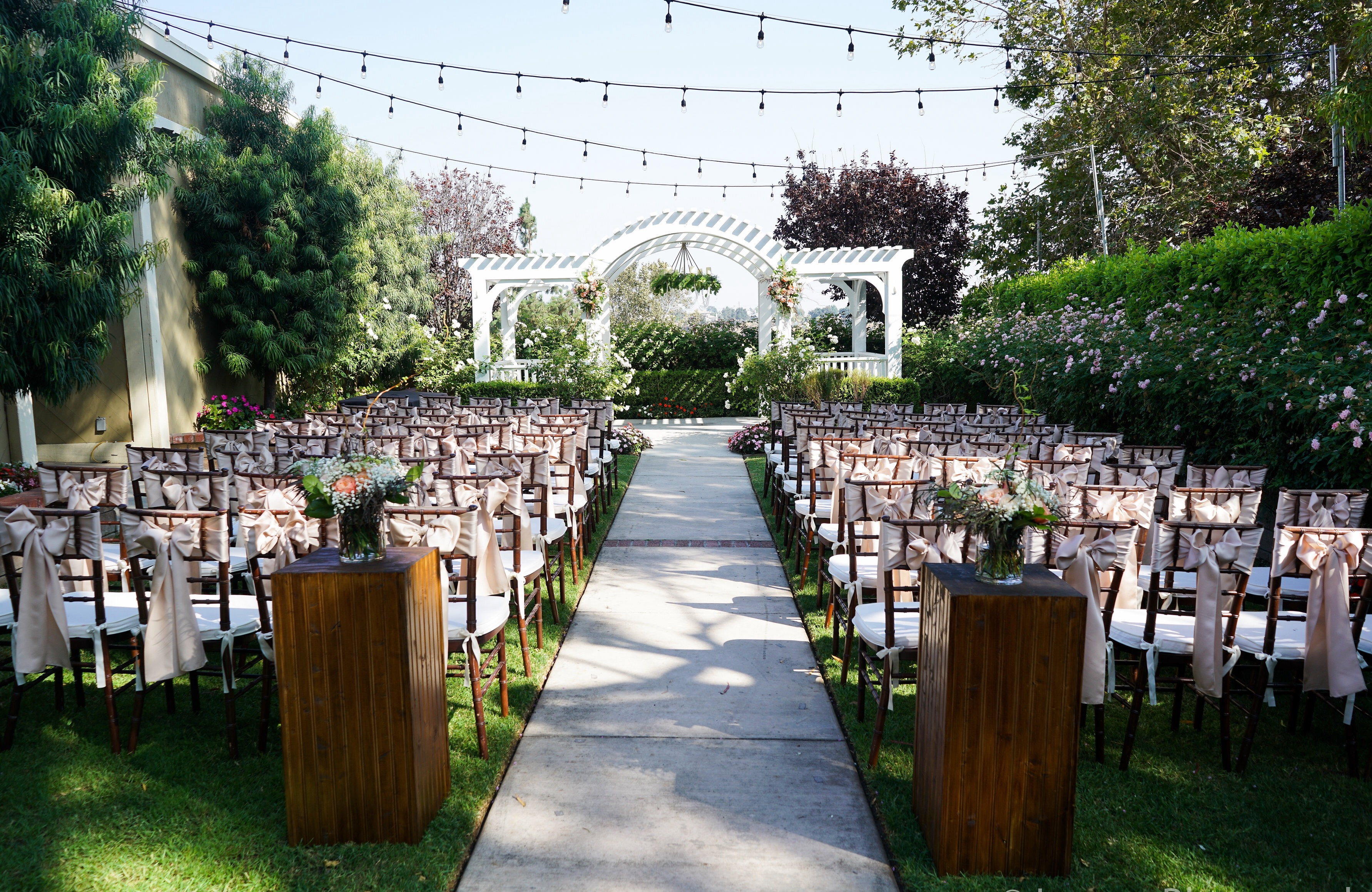 Wedding Ceremony Packages: San Gabriel Valley Receptions
