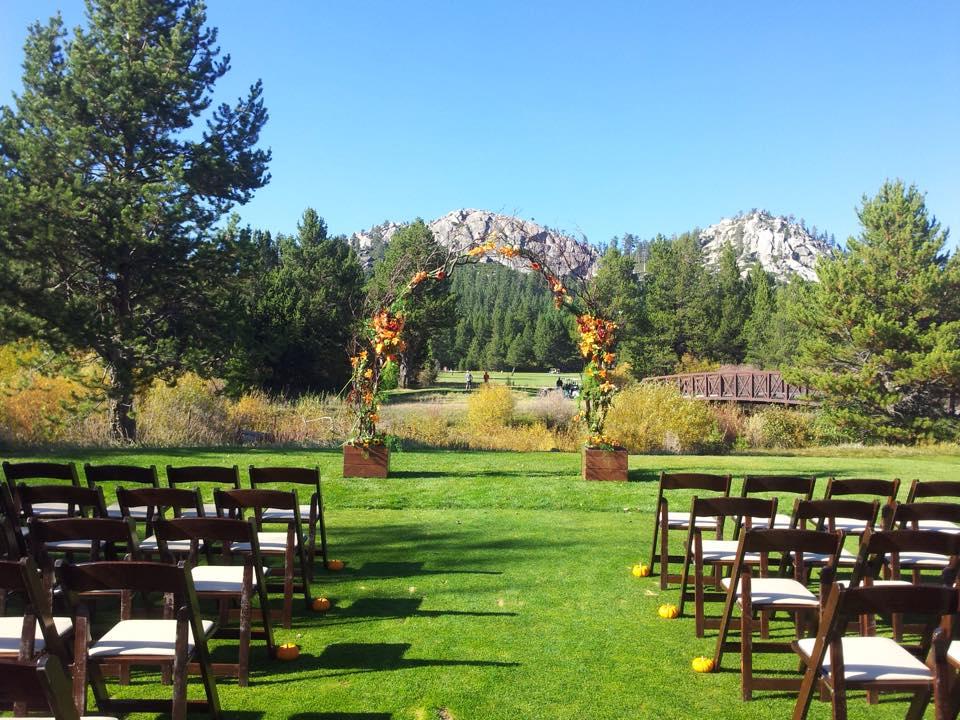 Lake Tahoe Wedding Venues at Lake Tahoe Golf Course | CCR