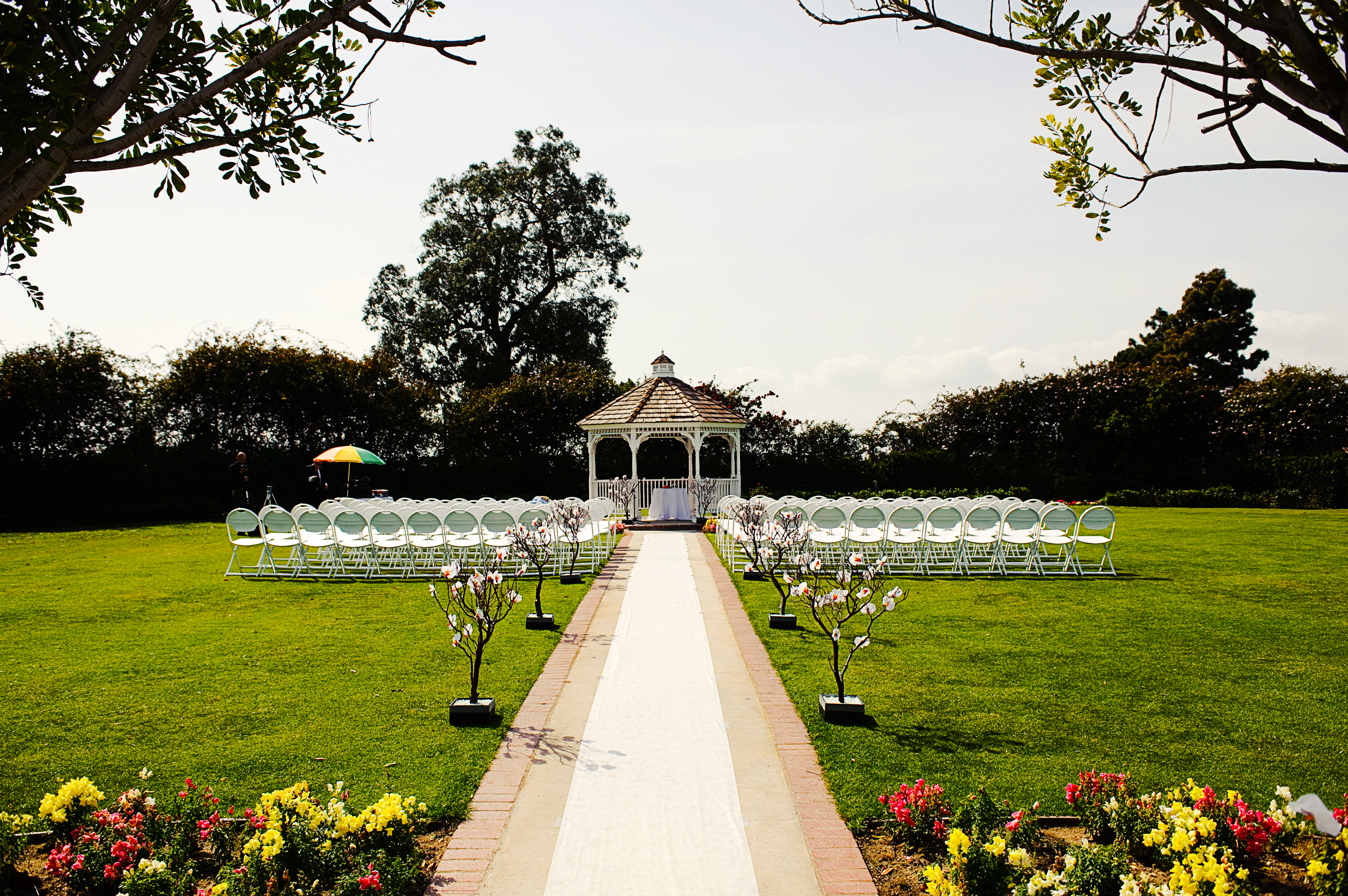 Outdoor Wedding Venue In Long Beach