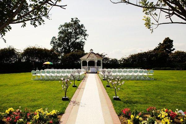 recreation park 18 golf course ceremony site - wedding venues in huntington beach